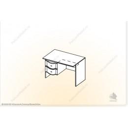"""Стол 1-тумбовый """"Мозаика"""" СТ-1"""