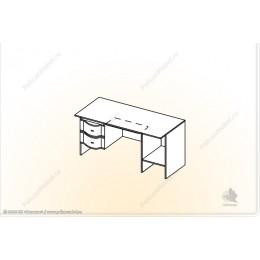 """Стол 2-тумбовый """"Мозаика"""" СТ-1,5"""